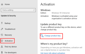 How To Activate Windows 10 by using Product Key