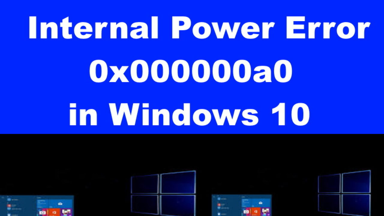 Internal power error