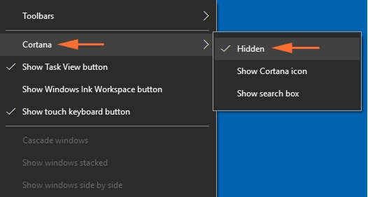How to enable cortana in windows 10 via registry editor tools