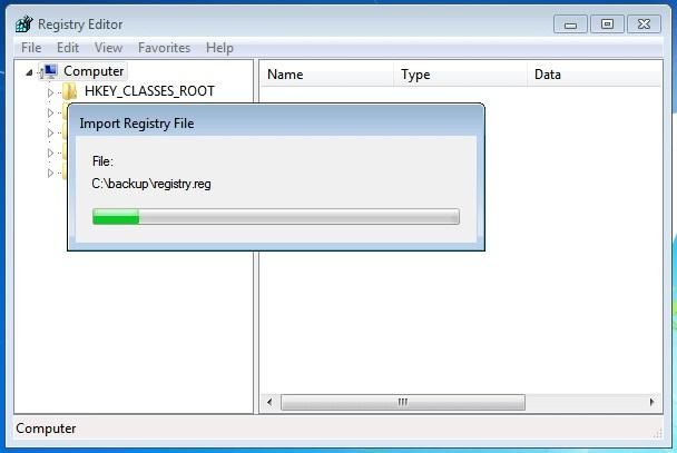How to Backup Restore Registry in Windows 10 / 8 / 7 / Vista